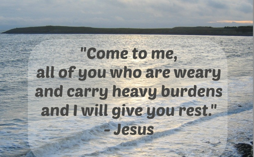 Jesus: Rest for the Weary