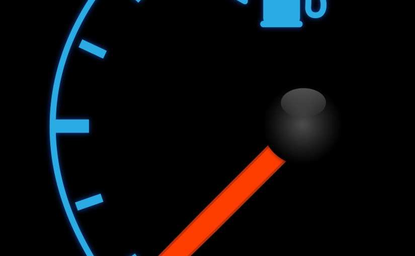 Live Abundantly – Even When Your Tank Is onEmpty